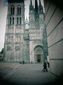 La cathédrale de Rouen en Normandie est à 25 minutes des gîtes du Manoir Saint-Ouen,logis à léry dans l'Eure,séjour en normandie, hébergement proche de rouen,